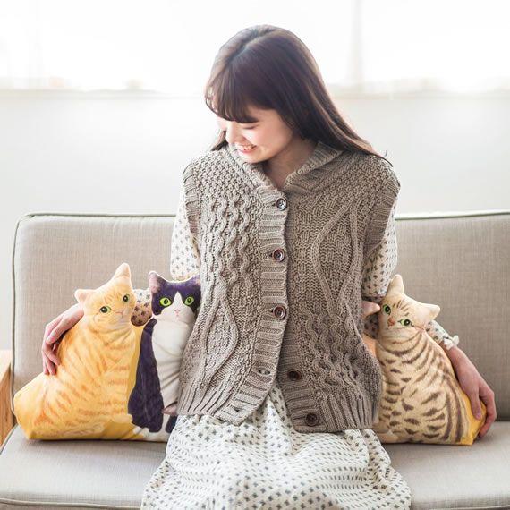 日本猫1種類だけでもキュート