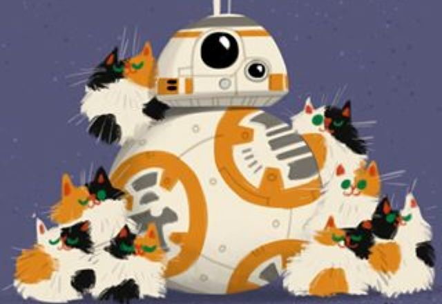 スター ウォーズ ねこちゃん ディズニーのイラストレーターが描いたコンビネーションが秀逸 29cutecat ねこフォトメディア