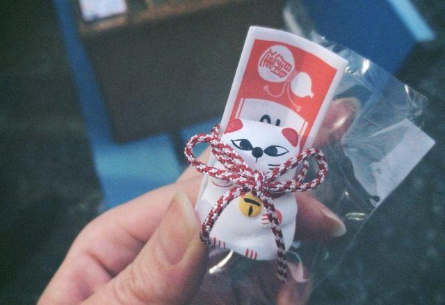 「ねこみくじ」を引きに招き猫発祥の今戸神社へ初詣&カメラ散歩♪